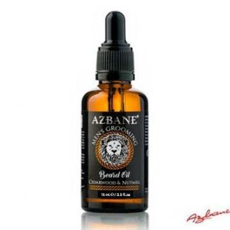 Azbane Cedarwood & Nutmeg Beard Oil (15 ml)
