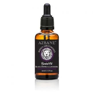 Azbane Black Pepper & Lavender Beard Oil (15ml)