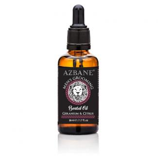 Azbane Geranium & Citrus Beard Oil (30 ml)
