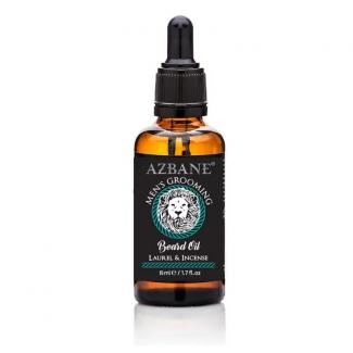 Azbane Laurel & Incense Beard Oil (15 ml)
