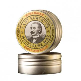 Captain Fawcett Booze & Baccy Moustache Wax