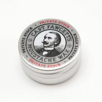 Captain Fawcett Moustache Wax Private Stock