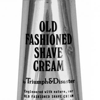 Old Fashioned Shave Cream Tube