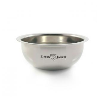 Polished stainless steel soap bowl
