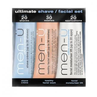 Ultimate shave / facial set